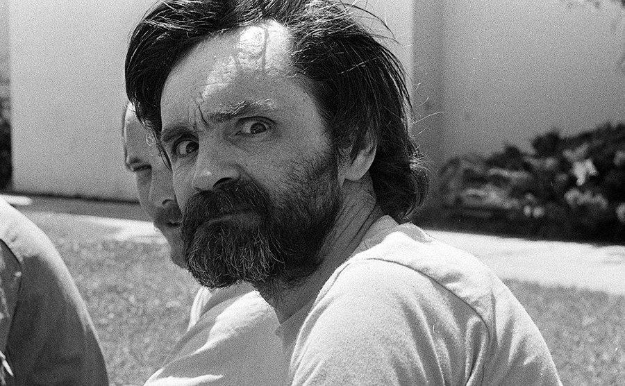 Charles Manson at the California Medical Facility.