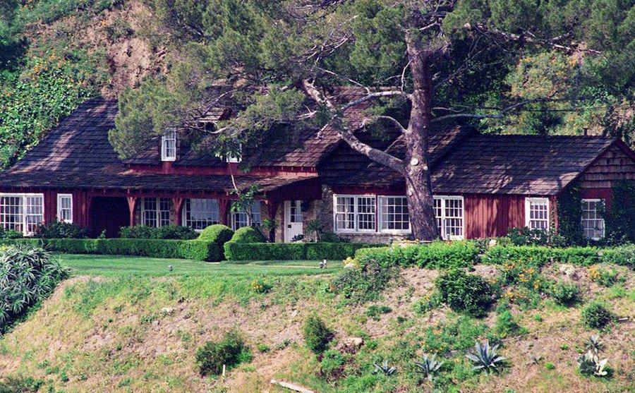 10500 Cielo Drive – The Manson murder house.