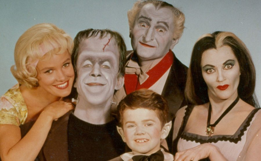 The cast of The Munsters.