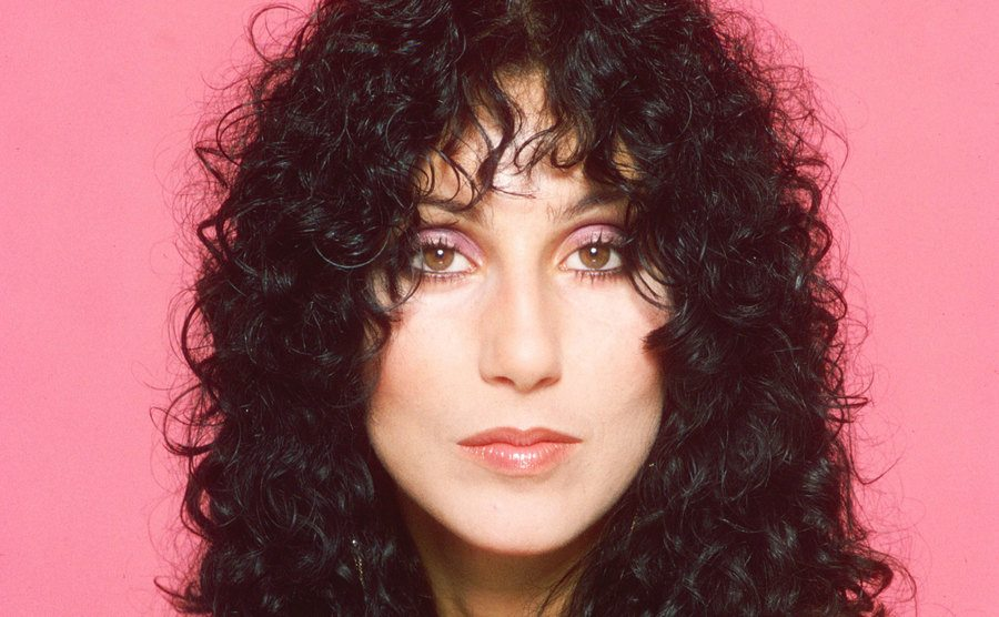 Cher poses for a publicity Session.