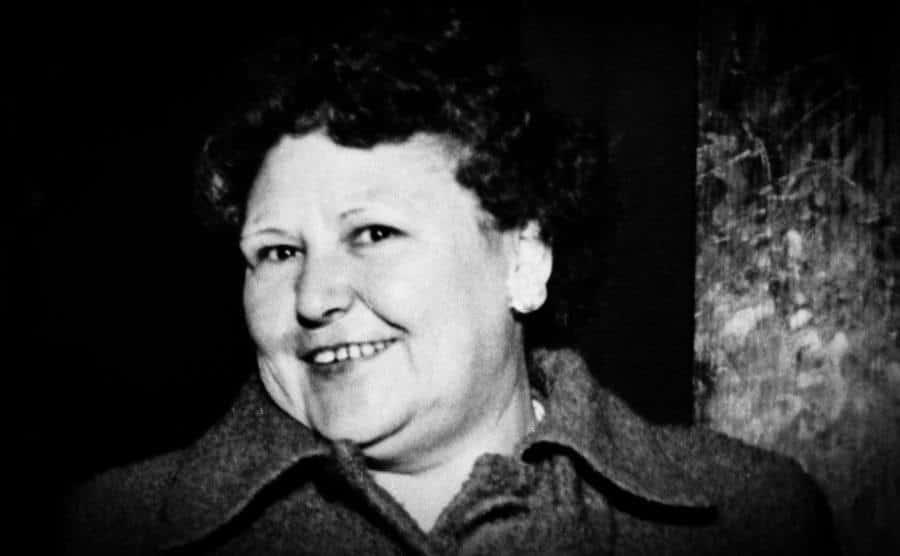 A portrait of Nannie Doss.