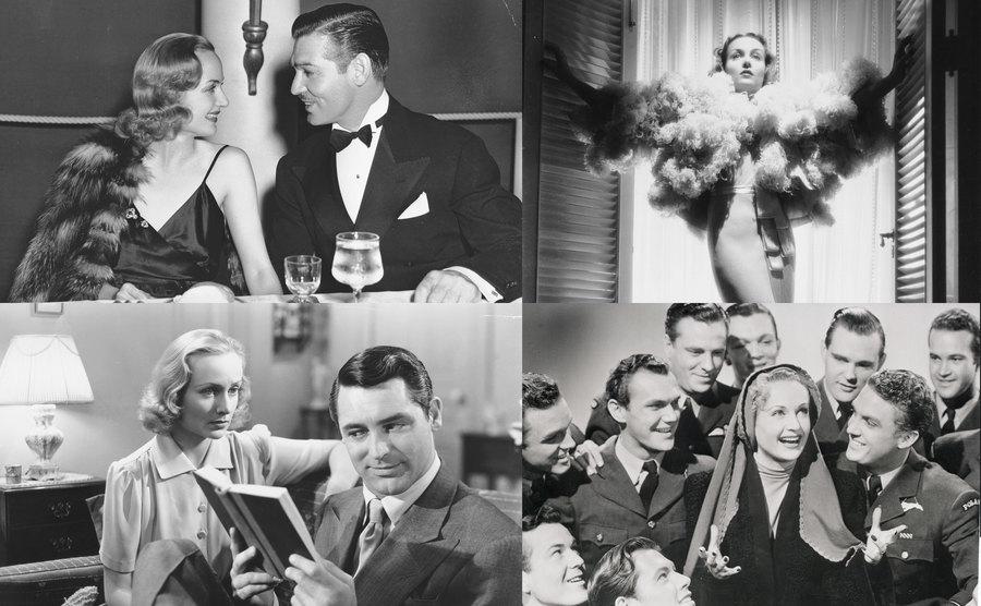 Carole Lombard Clark Gable / Carole Lombard / Carole Lombard and Cary Grant / Lombard and soldiers