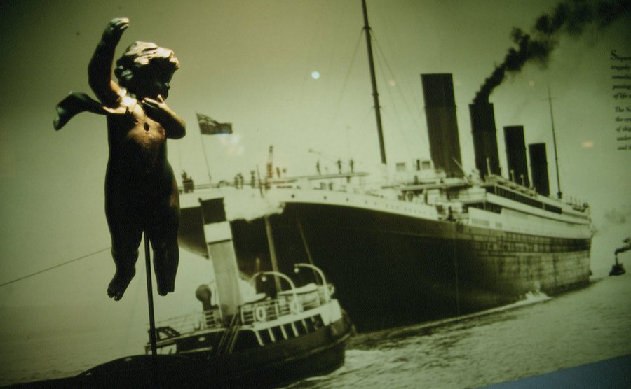 An exhibition on the sinking of the Titanic.