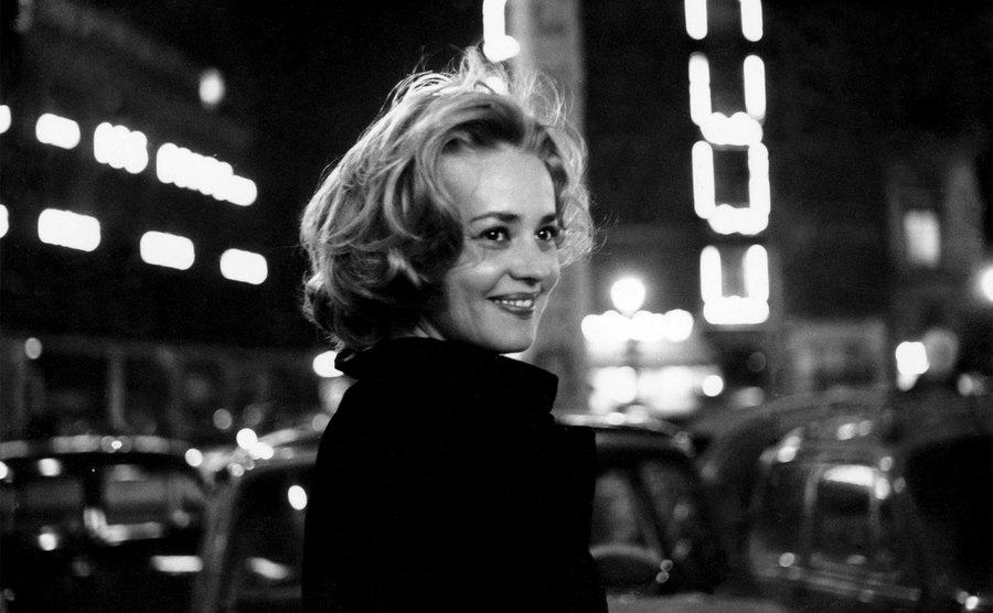 Jeanne Moreau in 'Lift to the Scaffold.'