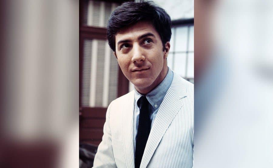 A portrait of Dustin Hoffman.