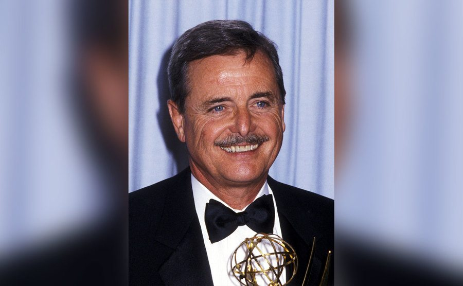 William Daniels attends the 37th Annual Primetime Emmy Awards.
