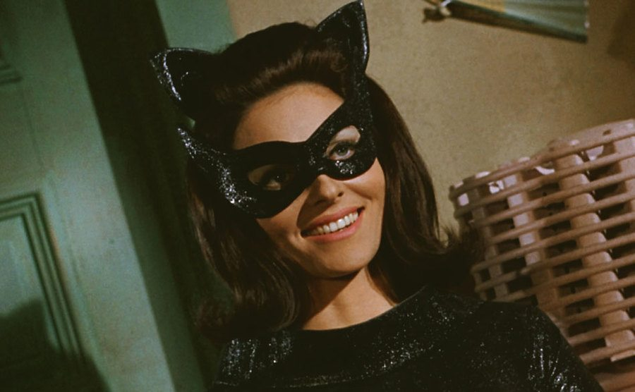 Lee as Catwoman in the Batman movie.