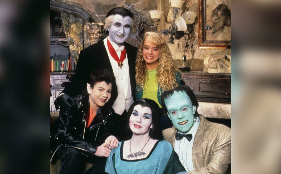 The cast of The Munsters Today.