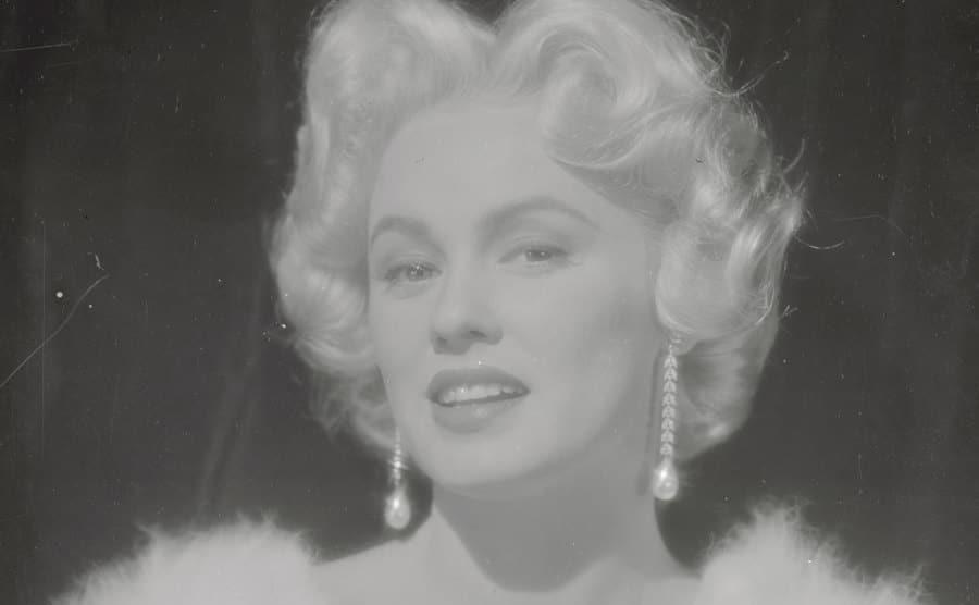 A portrait of Mamie Van Doren.