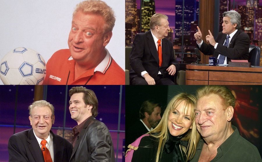 Rodney Dangerfield / Rodney Dangerfield and Jay Leno / Rodney Dangerfield and Jim Carrey / Rodney Dangerfield and Joan Child