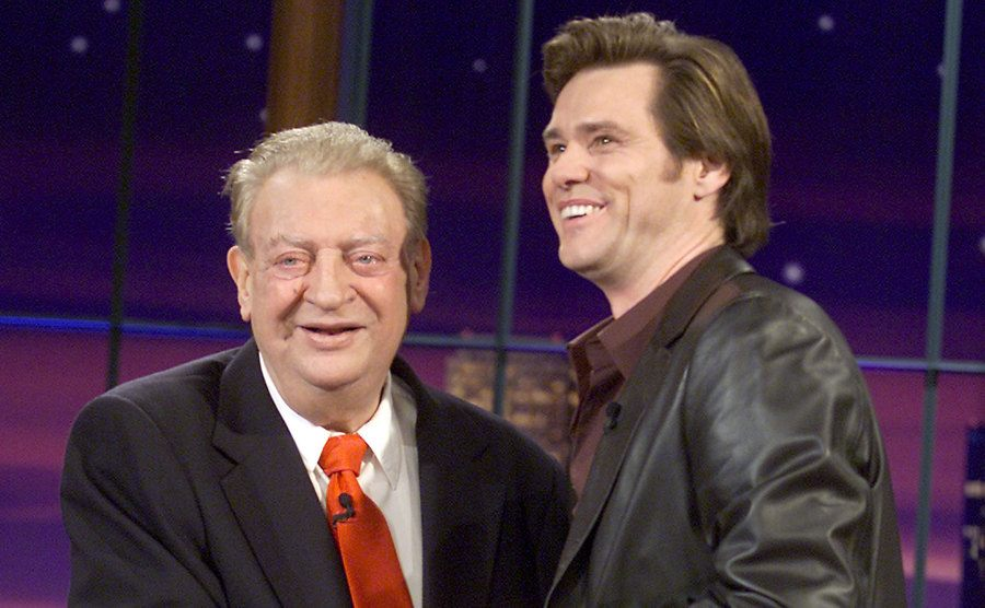 Jim Carrey and Rodney Dangerfield are on